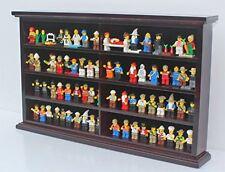 Kid-Safe LEGO Men Minifigures Miniature Action Figures Display Case Wall Cabinet