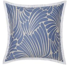 Brand New Florence Broadhurst Finger Blue 2 Pack European Pillowcase RRP $80