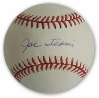 Joe Tepsic Hand Signed Autographed MLB NL Baseball Brooklyn LA Dodgers W COA