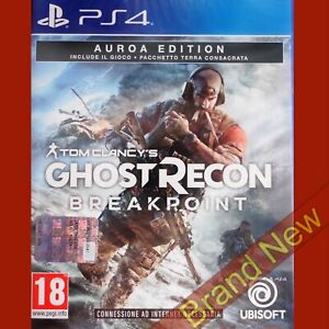 TOM CLANCY'S GHOST RECON BREAKPOINT Auroa Edition - PlayStation 4 PS4 ~ NEW