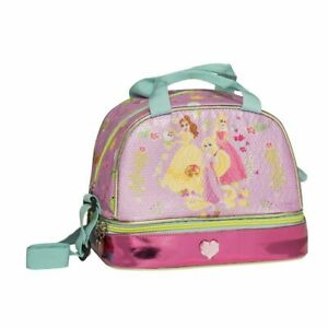 DISNEY sac à gouter PRINCESSES rose lunch box voyage pique-nique graffiti