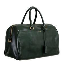 Saint Laurent Women s Forest Green Calfskin Leather Classic Duffle 12 Bag 118a90d3c6