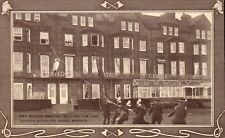 Margate. Fire Brigade at Queen's Highcliffe Hotel. Card by Fredk. Macfadyen.