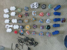 HUGE LOT 40 + Toys Bey Blades Rip cords     MORE ON MY OTHER AUCTIONS