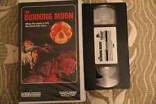 The Burning Moon Mondo Video Clam shell Horror Gore Rare VHS