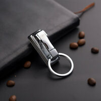 Quality Zinc Alloy Detachable Quick release Keychain Belt Clip key ring holder