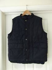 TROJAN Jacket Blue Body Warmer Padded Gilet Work Wear Casual Men's Size Large