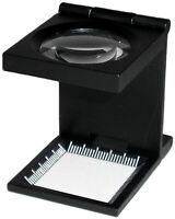 Luppe/Fadenzähler/Magnifier 8fach Vergrößerung - NEU