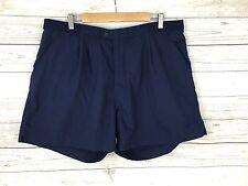 Men's Adidas Retro Chino Shorts - W42 - Navy - Great Condition
