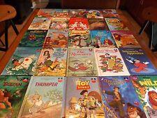 Lot of 25 Disney Wonderful World of Reading Club Books