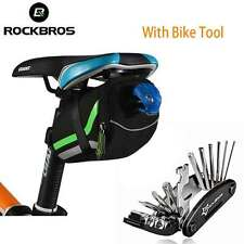 RockBros Bicycle Rear Seat Bag Saddle Tail Storage Bag & Bike Multi Repair Tool