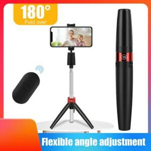 Extendable Remote Selfie Stick Tripod Cell Phone Stand Desk Holder 360 Rotatable