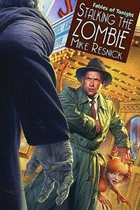 MIKE RESNICK • Signd 3Xs Ltd Edition • STALKING THE ZOMBIE • John J. Mallory, PI
