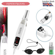 Portable Electronic Red Laser Picosecond Pen Tattoo Acne Removal Skin Recover CE
