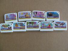 Vtech MobiGo Game Cartridge Lot Brave Minnie Planes Disney Princess Tangled