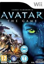 James Cameron Avatar The Game Wii New and Sealed