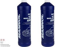 2x1 Liter MANNOL 9809 Auto Wash & Wax Autowäsche Glanzshampoo Polieröl