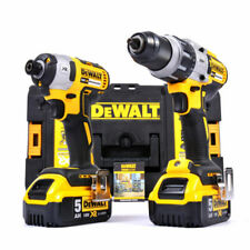 DEWALT DCK276P2T Combi Drill and Impact Driver XR 18V Brushless Kit - Pack of 2
