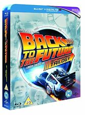 "BACK TO THE FUTURE TRILOGY 4 DISC BOX SET 30TH ANNIVERSARY BLU-RAY RB ""NEW"""