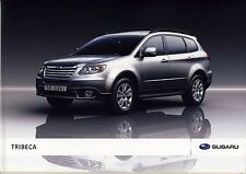 Subaru Tribeca 2010 catalogue brochure polonais Poland