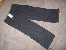 Ladies Dorothy Perkins BNWT £28 black wide leg with ties to hem trousers size 12