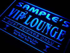 qi-tm Name Personalized Custom VIP Lounge Best Friends Only Bar Beer Neon Sign