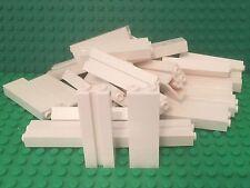 Lego X24 New White 1x2x5 Brick W/ Groove / Garage Support / Wall Columns Pillar