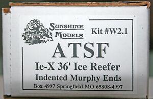 SUNSHINE MODELS KIT # W2.1  IE-X ICE REEFER