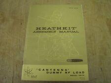 Heathkit HN-31 Cantenna original manual, boxes ticked