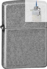 Zippo 28973 antique silver plated Lighter & Z-PLUS INSERT BUNDLE