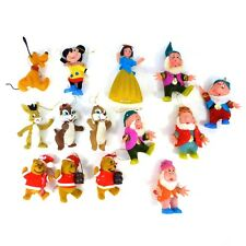 Mixed Lot of 14 Vintage Disney Snow White, Mickey, Winnie Christmas Ornaments