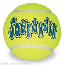 Lot of 3 XL KONG AIR DOG SQUEAKER TENNIS BALLS Jumbo Big Squeaky Ball Dog Toy