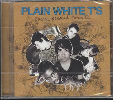 PLAIN WHITE T'S - EVERY SECOND COUNTS - CD (NUOVO SIGILLATO)