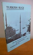 1968 TURKISH RUGS Hajji Baba Society Exhibition Catalog, Illustrated