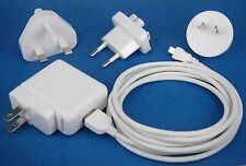 2A AC Wall Charger +6ft 2M Micro USB Cable White 4 Samsung Galaxy Note 10.1 2014
