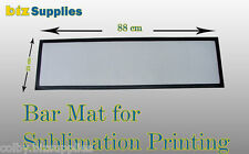 10x Blank Bar Runners/Mat 240x880mm for Dye Sublimation Printing/Bar Accesories