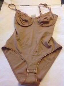 HANRO NUDE Skin Smooth Touch Bodysuit Underwire 34B 75B NWT Brand New 1533