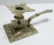 Joli Petit BOUGEOIR de Table Ancien en Bronze