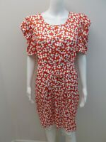 NEW RRP$160 HI THERE FROM KAREN WALKER DRESS WITH BELT SIZE 16    (#R277)