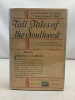 Tall Tales of the Southwest by Franklin J Meine SIGNED INSCRIBED Hardcover DJ