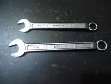 "2 X Bahco 1/2"" & 9/16"" Combination Ring Spanners"