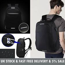 1da4239a5bfc 17 inch Laptop Backpack Rucksack Waterproof Travel School Bag with 3-1 USB  Port