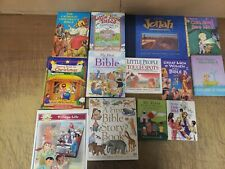 Lot of 25 Christian Prayer Bible Jesus Story Children Kid Books MIX UNSORTED KB4