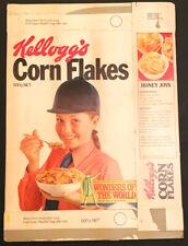 COMPLETE 1976 AUSSIE CORN FLAKES BOX -WORLD WONDERS- HANGING GARDENS - ORIGINAL!