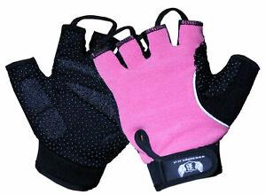 BOOM Ladies Wheelchair Gloves Gel Half Finger Mobility Disability Crutch Gym