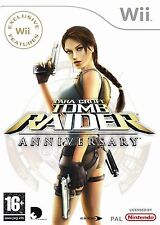 Tomb raider-anniversary pour pal wii (new & sealed)
