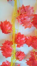 Joblot of 24 faux Silk Autumn Ivy leaf Garland Decorations - new wholesale