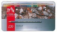 Caran D 'ache Pablo Lápiz de Color Juego de 120 Caja de metal (666.420)