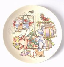 "Watkins ""Christmas Is Love"" Country Kids In Original Box 1991 Collector's Plate"