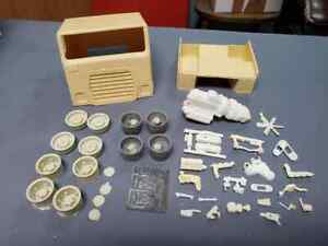 Ford WT-9000 Resin Cabover Conversion kit with accessories. 1/25th scale.